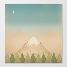 The Mountains Canvas Print