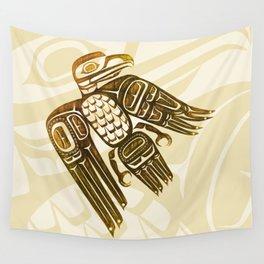 Coast Salish Eagle Wall Tapestry