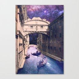 Space Venice Canvas Print