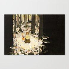 Sweet Porridge: Forest Scene Canvas Print