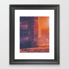 SUBSET.80 (everyday 02.06.16) Framed Art Print