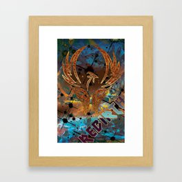 Rebirth of the Phoenix Framed Art Print