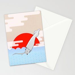 Ika Ika Stationery Cards