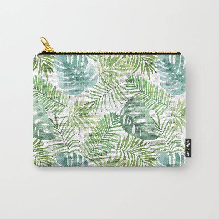 Tropical Branches Pattern 06 Carry-All Pouch