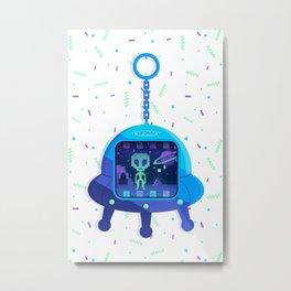 UFOtchi Metal Print