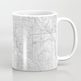 Methow Valley Topography - SeriousFunStudio Coffee Mug