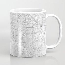 Methow Valley Topography - SeriousFunStudio Coffee Mug