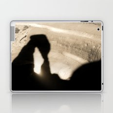 Delicate Arch shadow Laptop & iPad Skin