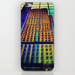 The Architecture of Envy iPhone Skin