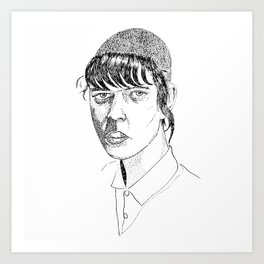Chelsea cut Art Print