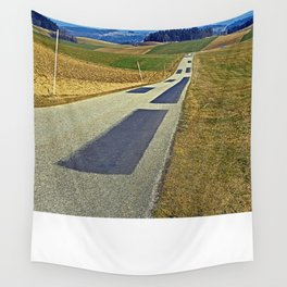 Country road into nothing particular | landscape photography Wall Tapestry