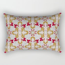 Mirror of Autumn (Dove Grey) Rectangular Pillow