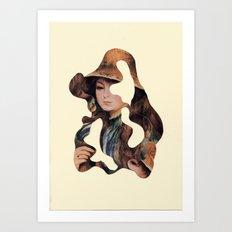 Renoir revisited Art Print