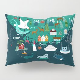 Sørlandet- The south of Norway  Pillow Sham