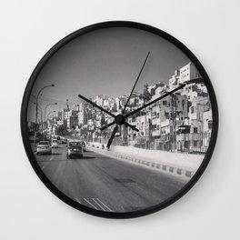 جبل القصور (Hill of Castles)  Wall Clock