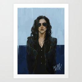 Rosa Diaz Art Print
