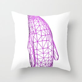 Wire Penguin Throw Pillow