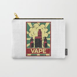 Vape Propaganda | Vaper Vaping E-Cigarette Carry-All Pouch