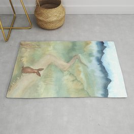 The Long and Winding Road Rug