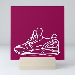 Sneakers Outline #5 Mini Art Print