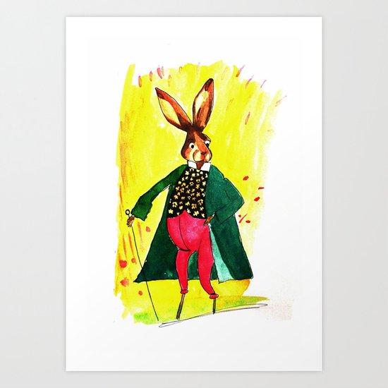 The Hare Art Print