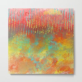 Southwestern Abstract Metal Print