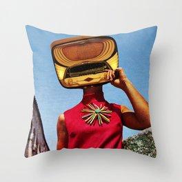 Fashion Radio Throw Pillow