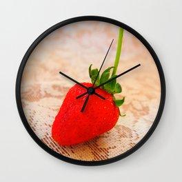 sweety strawberry! Wall Clock