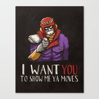 video games Canvas Prints featuring Video Games by Ronan Lynam