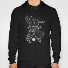 Cosmo + Celeste ( Colorful Cosmological Night Sky Couple in Love ) Hoody