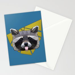 Naughty Raccoon Stationery Cards