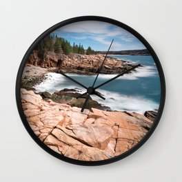Acadia National Park - Thunder Hole Wall Clock