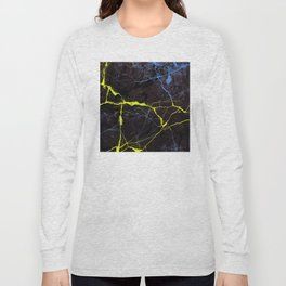Beyond Gold and Blue Marble Long Sleeve T-shirt