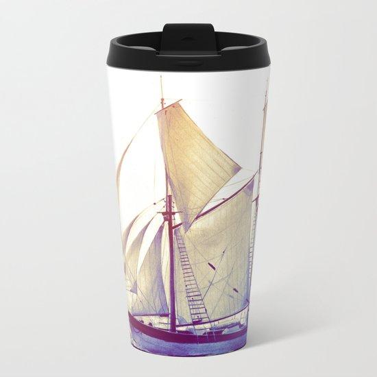 Afternoon Sail Metal Travel Mug