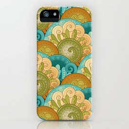 Boho Scales iPhone Case