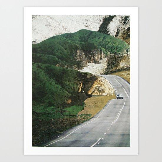 collage 10 Art Print