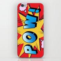 superheroes iPhone & iPod Skins featuring superheroes by mark ashkenazi