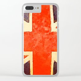 The British are coming Clear iPhone Case