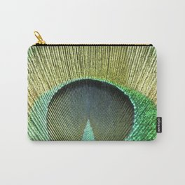 Eye Of A Peacock Carry-All Pouch