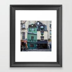 The Streets of Paris, France. Framed Art Print