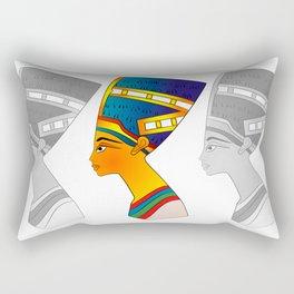 queen of ancient Egypt Rectangular Pillow