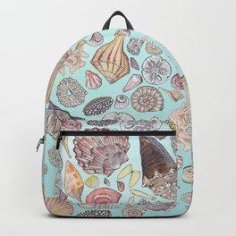 Sanibel Sea Shells Backpack