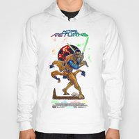 returns Hoodies featuring Hope Returns by Artless Arts
