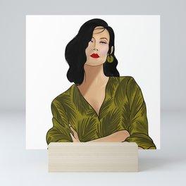 Girl boss Mini Art Print