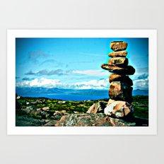 Rocks to Heaven Art Print
