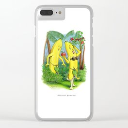 Second Banana Clear iPhone Case
