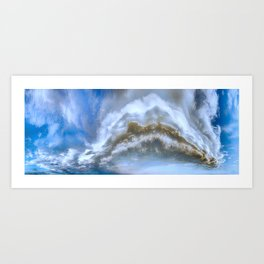 Mile High Plains Colorado Art Print