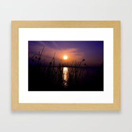 About Last Night Framed Art Print