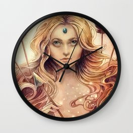 Zodiac Stagittarius Wall Clock