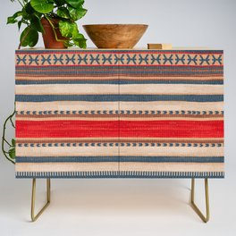 N66 - Classic Oriental Moroccan Style Fabric. Credenza